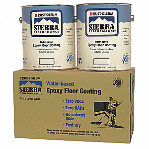 S40 Epoxy Floor Coating Kit,Classic Gray