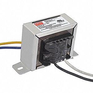 Class 2 Transformer, 20 VA Rating, 120VAC Input Voltage, 24VAC Output Voltage