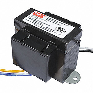 Class 2 Transformer, Input Voltage: 120VAC, 208VAC, 240VAC, Output Voltage: 24VAC