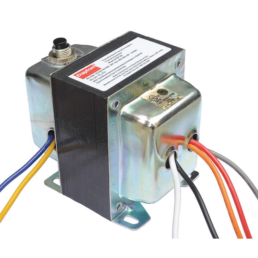 Class 2 Transformer, Input Voltage: 120VAC, 208VAC, 240VAC, 480VAC, Output  Voltage: 24VAC