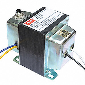 Class 2 Transformer, Input Voltage: 120VAC, 208VAC, 240VAC, 480VAC, Output Voltage: 24VAC