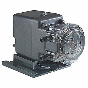 Peristaltic Chemical Metering Pump, Max. Flow Rate: 85 gpd, Max. Pressure: 25 psi
