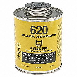 Adhesivo d/Contac,1 pt.,Negro,Tipo 620
