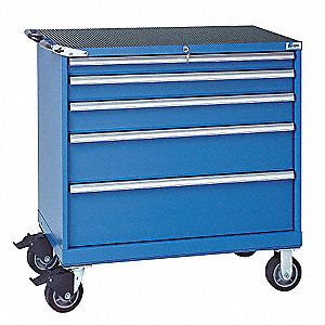 Mobile Workbench Cabinet,22-1/2 In. L