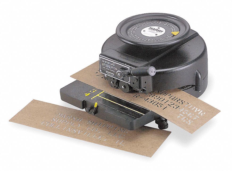 Stencil Machines And Oil Boards