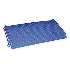 "54""L x 72""W Steel Dock Board; Load Capacity: 15,000 lb."