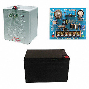 Power Supply 12VDC @ 2.5A W/Battery & Transformer