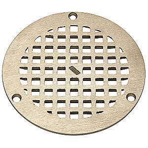 Zurn Replacement Grate Round 5 In Dia 4wdr3 Jp2280 R5