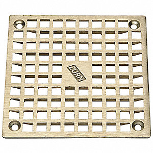 REPLACEMENT GRATE, SQUARE, PIPE DIA