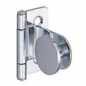 INSET GLASS/ACRYLIC DOOR HINGE
