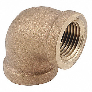 Elbow,90 Deg,Brass,250,1 In.,FNPT