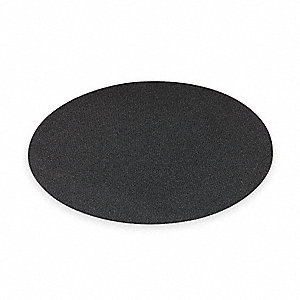 "16"" Polyester Open Mesh Fabric Round Sanding Pad, 175 to 300 rpm, Brown, 12 PK"