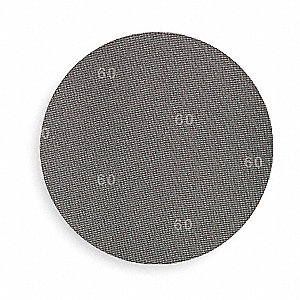 "17"" Non-Woven PSA Sanding Disc, 150 Grit, Non-Vacuum, Medium Grade, Silicon Carbide 12, PK"