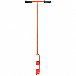 ONE-PIECE MUD AUGER,DIA 4 IN