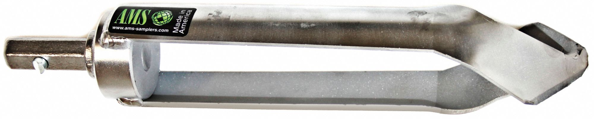 Auger,  2 1/2 in Dia. (In.),  Carbon Steel,  Quick Connect,  Quick Soil Penetration