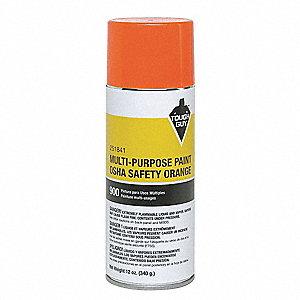 Tough Guy Spray Paint In Gloss Osha Safety Orange For Masonry Metal Wood 12 Oz 4wgc8 251841 Grainger