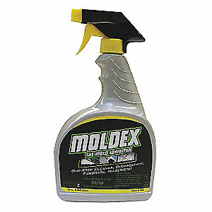 Mold Mildew Remover, 32 oz. Trigger Spray, 1 EA