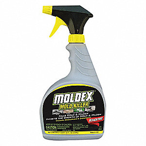 Moldex Mildew And Mold Remover 32 Oz Trigger Spray Bottle Unscented Liquid 1 Ea 4wge2 5010 Grainger