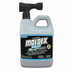 Mold Proof Barrier, 32 oz. Hose End Spray, 1 EA