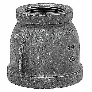 "Reducer Coupling, FNPT, 3/8"" x 1/8"" Pipe Size - Pipe Fitting"
