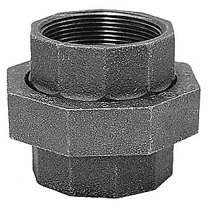 "Union, FNPT, 1-1/4"" Pipe Size - Pipe Fitting"
