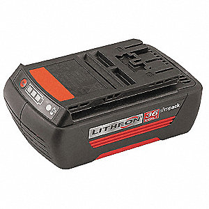 Battery Pack, 36.0 Voltage, Li-Ion