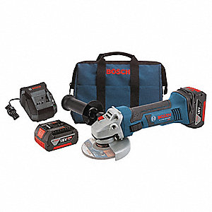 Cordless Cutoff/Grinder Kit,18V,4-1/2 In