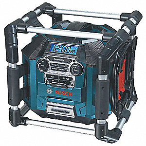 Jobsite Charger Radio, 14.4 or 18.0 Voltage, Bare Tool