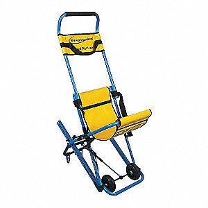 Amazing Stair Chair,400 Lb. Cap.,Blue