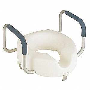 Lift Toilet Seat, Round or Elongated, Without Cover