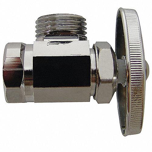 Coflex llave d cont lavabo 1 2x1 2pulg angular llaves de for Llaves de agua para lavabo