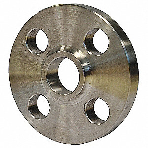 "316 Stainless Steel Lap Joint Flange, Welded, 1/2"" Pipe Size - Pipe Fitting"