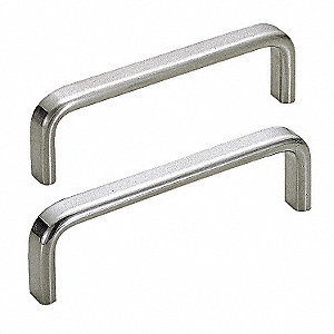 303 Stainless Steel Pull Handle with Polished Finish, Natural&#x3b; Hardware Included