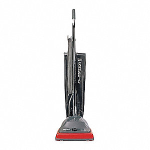 Upright Vacuum,  Reusable Bag,  12 in Cleaning Path Width,  120 cfm,  12.2 lb Weight,  120 V Voltage