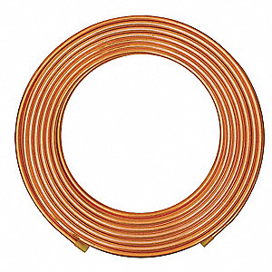 "100 ft. Soft Coil Copper Tubing, 3/8"" Outside Dia., 0.250"" Inside Dia."
