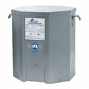 Single Phase Transformer, 120VAC, 240VAC Output, 240VAC, 480VAC Input