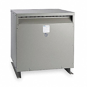Floor-Mount 600VAC Energy Efficient Transformer, 50kVA, 120/240VAC Output Voltage