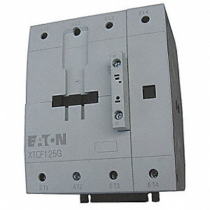 240VAC IEC Magnetic Contactor; No. of Poles 4, Reversing: No, 95 Full Load Amps-Inductive