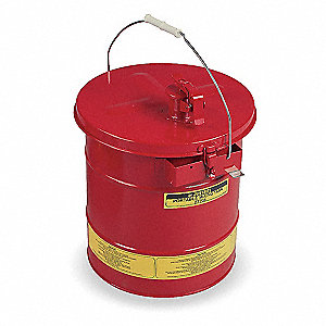 "Red Mixing Tank, Galvanized Steel, Portable Mounting Type, 5 gal. Capacity, 16"" Height"