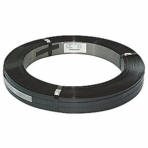 Steel Strapping,3/4 In,L 2353 Ft