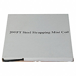 Steel Strapping,3/4 In,L 300 Ft