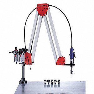 "Air Tapping Arm with 57"" Reach and 16 ft.-lb. Torque"
