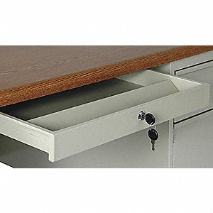 Center Drawer,20.5x1-7/8x16.5 In,Putty