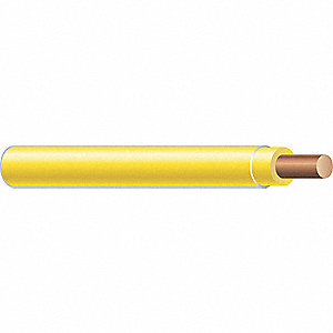 500 ft. Solid Building Wire with THHN Wire Type and 10 AWG Wire Size, Yellow