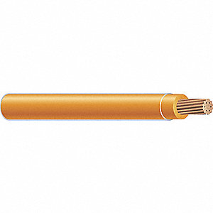 Building Wire,THHN,14 AWG,Orange,2500ft