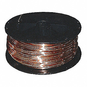BUILDING WIRE,BARE CU,8AWG,95A,500F