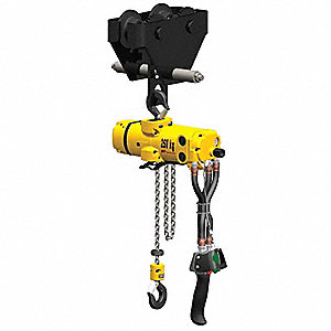 Air Chain Hoist,1100 lb. Cap.,10 ft. Lft