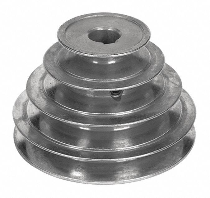 CONGRESS CA0275X062KW V-Belt Pulley 5//8 Fixed 2.75 OD Zamak3 Pack of 2