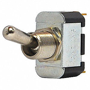 Toggle Switch,SPDT,10A @ 250V,QuikConnct