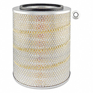 "Air Filter, Round, 12-3/8"" Height, 12-3/8"" Length, 9-7/32"" Outside Dia."